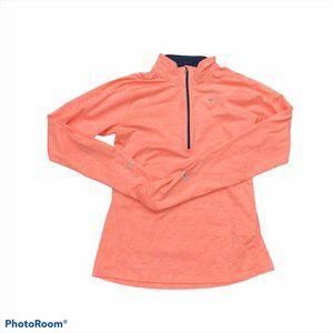 Nike Dri-Fit Element Long Sleeve Half Zip Running Top Shirt Pullover Small